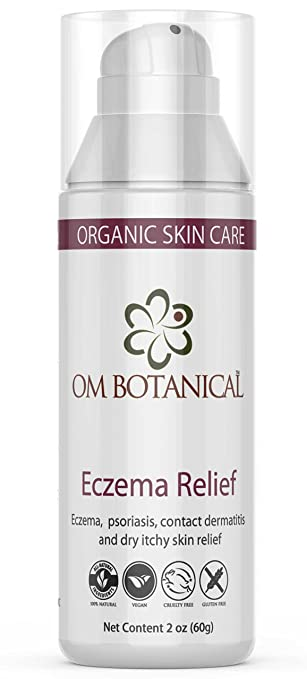 Natural Eczema and Psoriasis Treatment Cream | Hydrocortisone and  Steroid-Free Organic