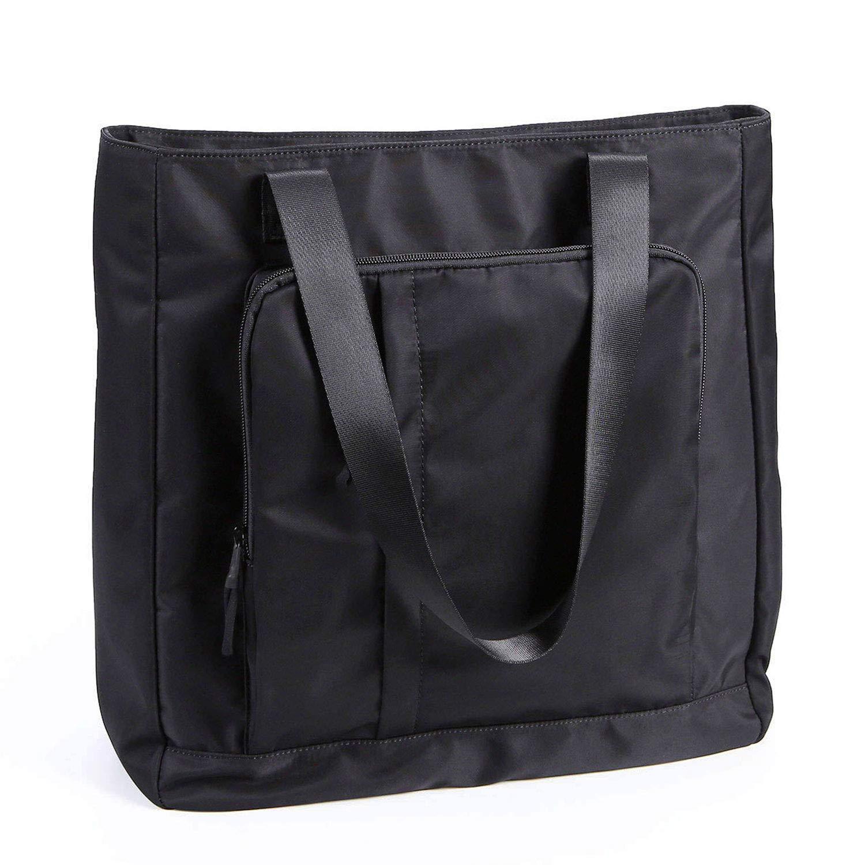 Water Resistant Large Travel Tote Shoulder Bag Lightweight Gym Tote for Men Women Unisex Day Bag