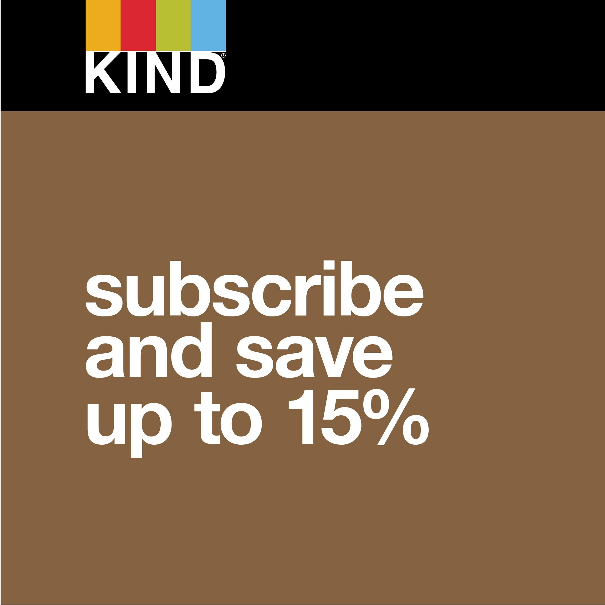 KIND Bars, Madagascar Vanilla Almond, Gluten Free, Low Sugar, 1.4oz, 12 Count by KIND (Image #7)