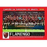 Pôster A4 - Flamengo Campeão Supercopa do Brasil - 2020