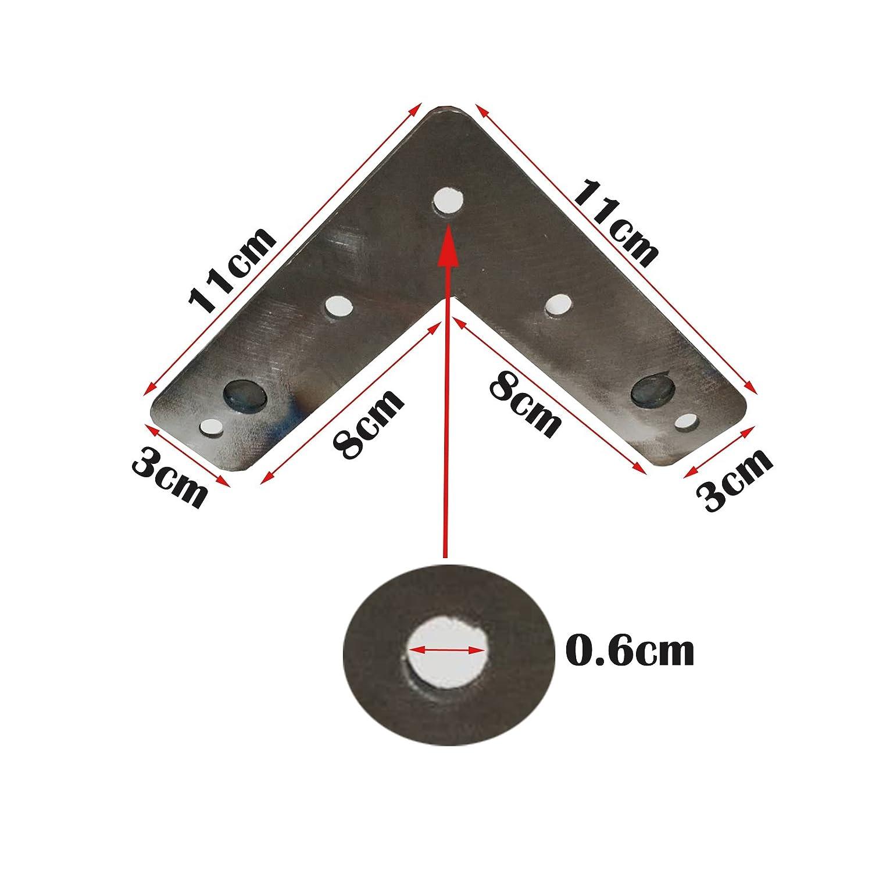 10 cm a 72 cm 4 patas de horquilla para el cabello patas de mesa altura de mesa est/ándar estable patas de mesa de metal resistentes para bricolaje