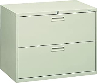 product image for HON 582LQ 500 Series 36 by 28-3/8 by 19-1/4-Inch 2-Drawer Lateral File, Light Gray