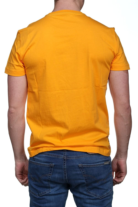 Emporio Armani - Camiseta - para hombre naranja naranja: Amazon.es ...