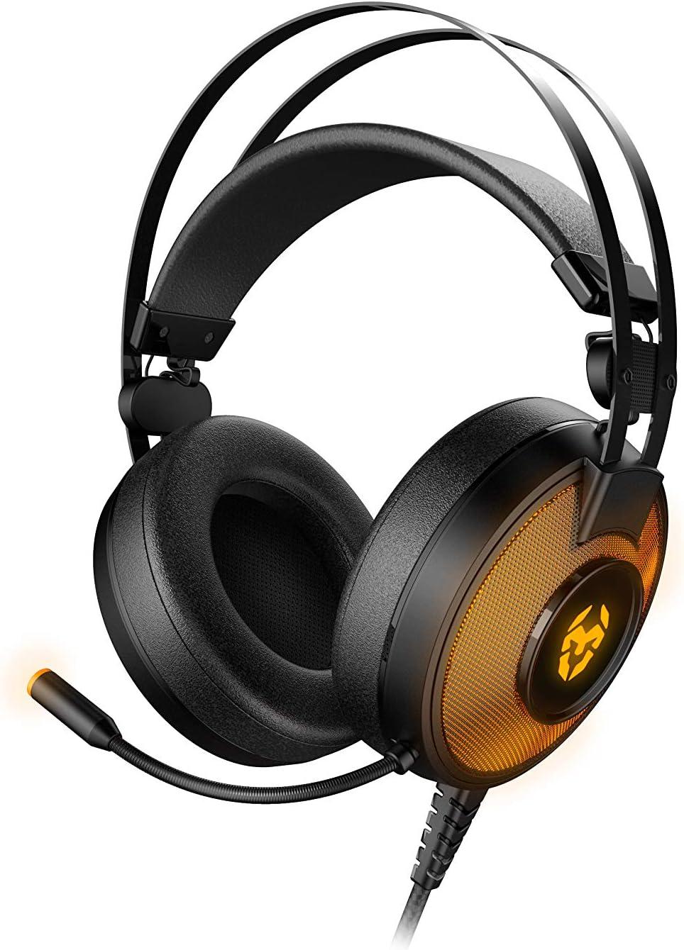 KROM Kayle - NXKROMKAYLE - Auricular Gaming, 7.1, RGB, Color Negro