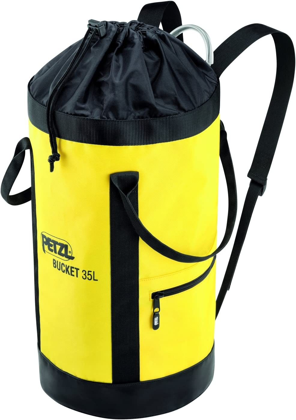 PETZL - Bucket, Fabric Pack, Remains Upright, 35 Liters : Sports & Outdoors