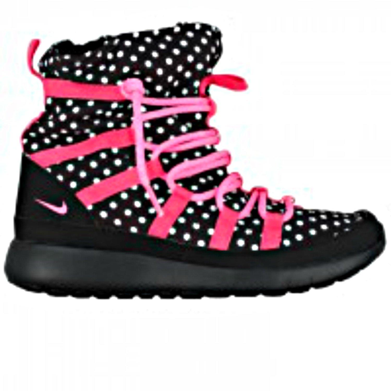 nike shoes for girls high tops black. amazon.com | nike youth girls roshe one hi print shearing boots shoes for high tops black