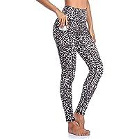 Gimdumasa Hög Midja Leggings Running Tights Sportbyxor för Damer Yoga Workout Fitness Gym Yoga byxor med Ficka för…