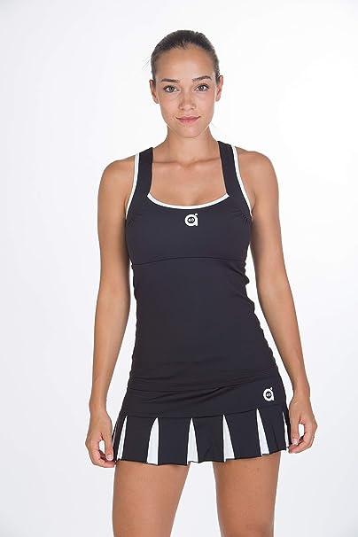 a40grados Sport & Style Trass Camiseta de Tenis, Mujer: Amazon.es ...