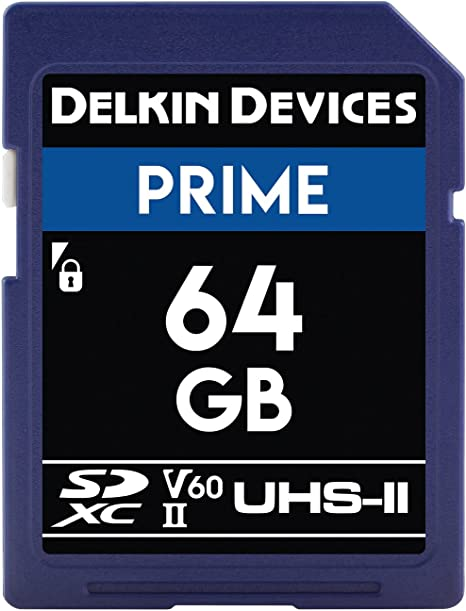 Amazon.com: Delkin Devices 64 GB Prime SDXC 1900 x UHS-II ...