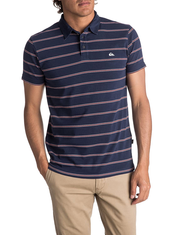bc197d9fe7ed5 Amazon.com  Quiksilver Men s Watton Polo Shirt  Clothing