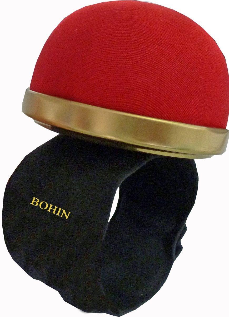 Bohin 98321ago cuscino con chiusura a scatto, rosso