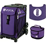zuca sport bag rebel with gift lunchbox and seat cover black frame - Zuca Frame