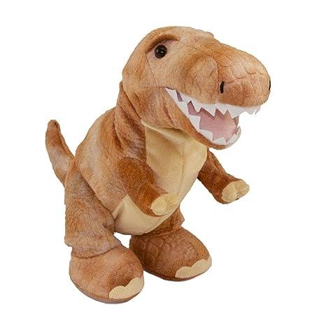 Amazoncom Cuddle Barn T Rex Roar And More Plush Dinosaur Toys Games