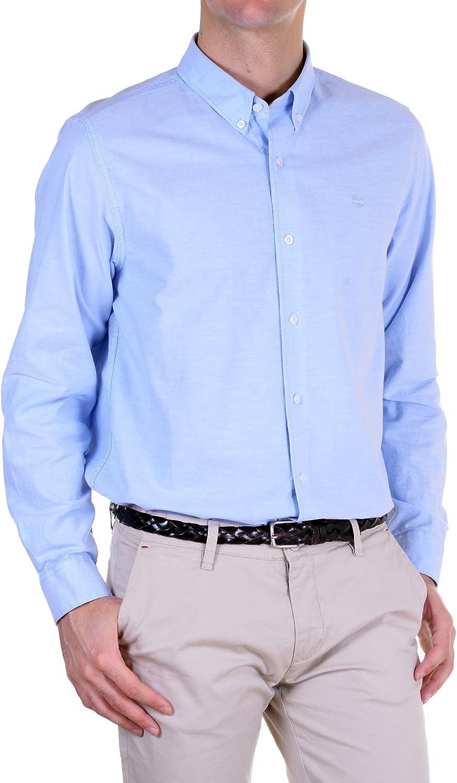 Timberland - Camisa Hombre Slim azul cielo S: Amazon.es: Ropa y accesorios
