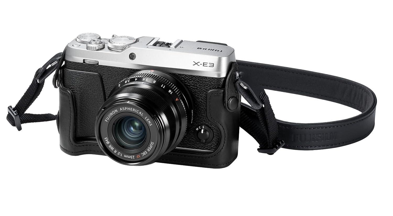 Black Fujifilm BLC-XE3 Bottom Leather Case