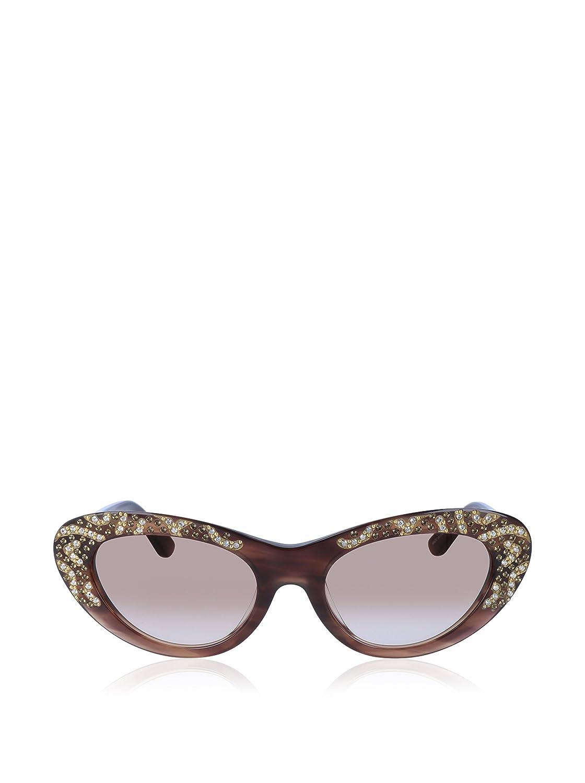 0cec3b3f6b Salvatore Ferragamo Sunglasses SF625SR0 216 Striped Brown Fifties Limited  Edition  Amazon.co.uk  Clothing