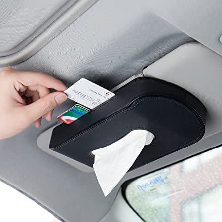 Caja de pañuelos de papel creativo para coche, de FMS, diseño multifunción optimizado, con pegatinas de números de teléfono: Amazon.es: Hogar