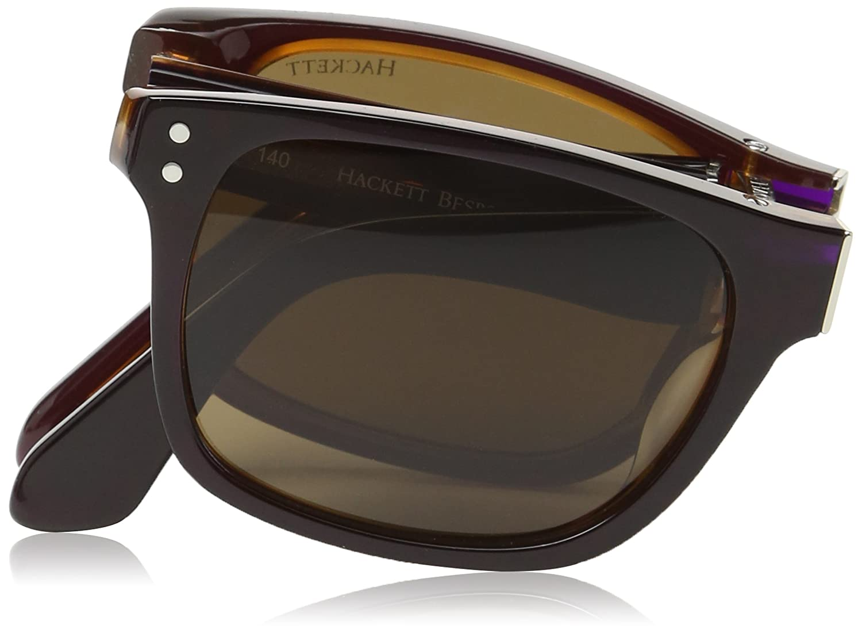 Hackett Bespoke - Gafas de sol Wayfarer HSB832 002 para ...