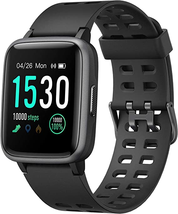 moreFit Smart Watch Fitness Tracker,TouchScreen Activity Tracker Watch with Heart Rate Monitor,Waterproof Smart Fitness Band with Step Tracker,Calorie ...