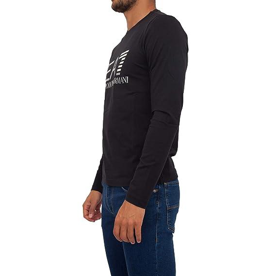 97cb965dc1c5 Emporio Armani Ea7 6ZPT22 PJ20Z T-Shirt Man Black 3XL  Amazon.co.uk   Clothing