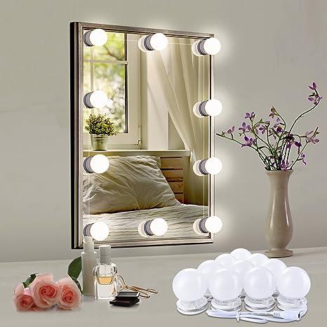 Espejos con luz para maquillarse mejor luz para for Luces camerino