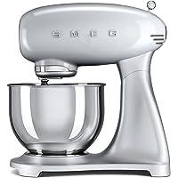 Smeg Robot culinaire Multifonction SMF01SVEU, 800 W, Argent