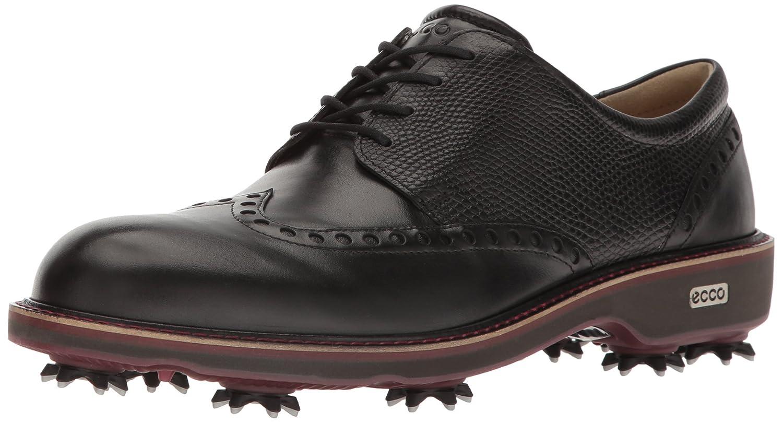 メンズ cm LUX ゴルフシューズ B01KIGWIAK CLASSIC [エコー] BLACK/BLACK 26.0 GOLF