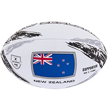 Gilbert New Zealand Supporter Ball Balón Rugby Nueva Zelanda ...
