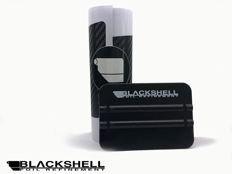 BLACKSHELL protection pour seuil de chargement film de protection de peinture sur mesure protection pare-chocs raclette Premium pour Countryman R60 2010-2017 4D carbon noir