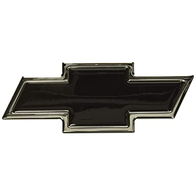 All Sales 96108KC Ami Chevy Bowtie Grille and Lift Gate Emblem, Chrome/Black (Pack of 2): Automotive