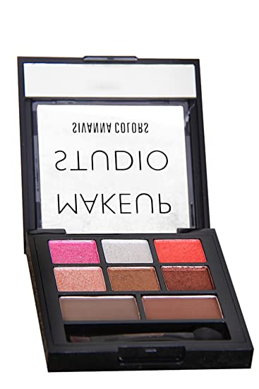 Buy Sivanna makeup studio colors velvet eye shadow palette with eyebrow 7G Online at Low Prices in India - Amazon.in