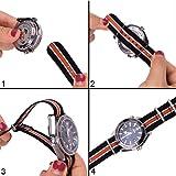 Ritche NATO Strap 18mm 20mm 22mm Nylon Watch Band