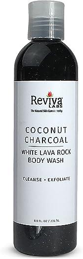 Coconut Charcoal & White Lava Rock Body Wash
