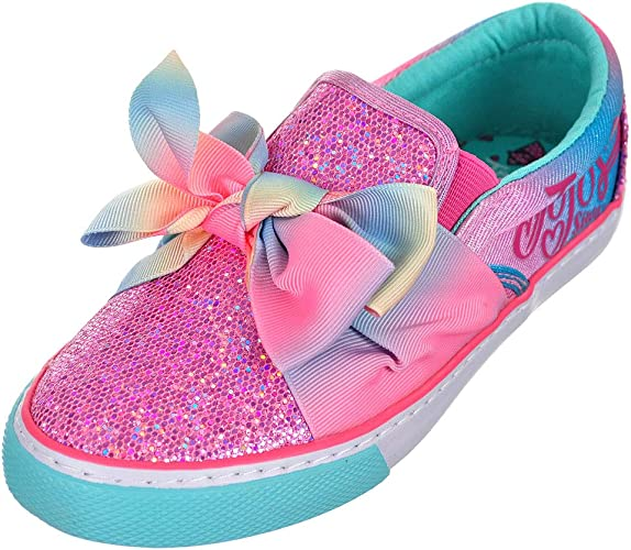 Jojo Siwa Girls' Slip-On Sneakers