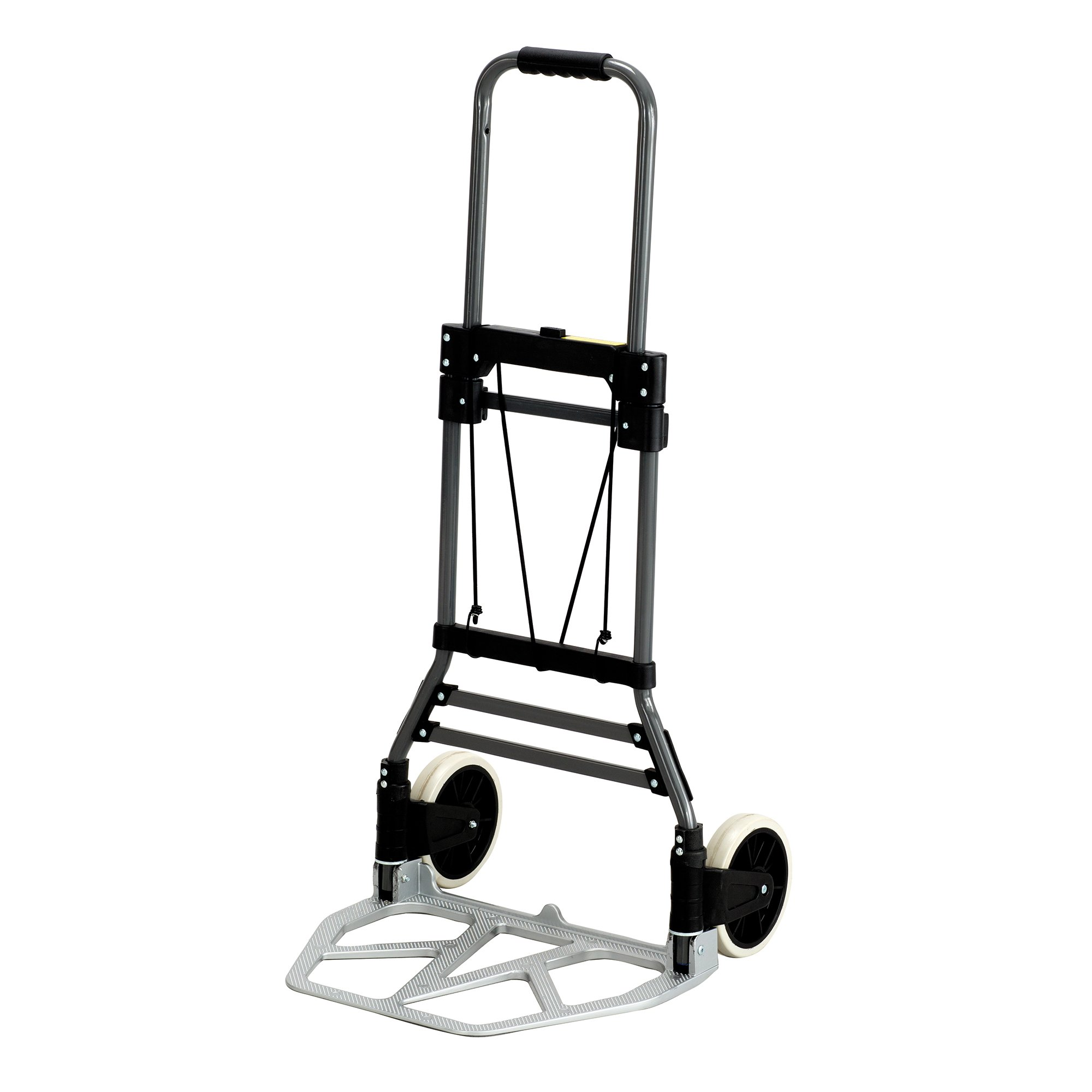 Safco Products 4062 Stow-Away Collapsible Utility Hand Truck, Silver/Black