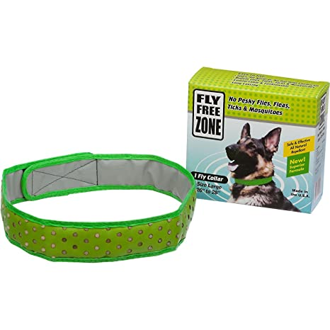amazon com fly free zone natural fly repellent dog collar pet