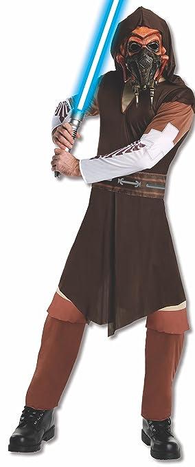 Disfraz de Plo Koon Star Wars para adulto - Estándar: Amazon ...