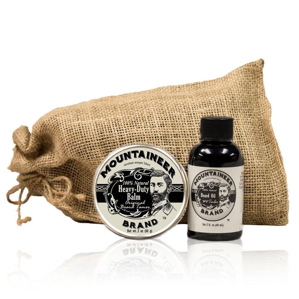 Mountaineer Brand Beard Oil/Beard Tamer and Conditioner Combo/Gift Pack
