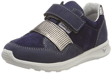 Ricosta Milana, Sneakers Basses Fille, Noir (Schwarz), 34 EU