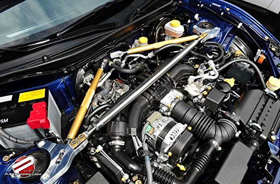 Amazon.com: Password JDM Engine Bay Dress Up Kit 2013 and Up Subaru BRZ / Scion FR-S - Green: Automotive