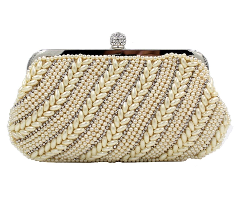 Abless Womens Glamour Elegant Evening Clutch Fashion Purse Chain Handbag -SK1193