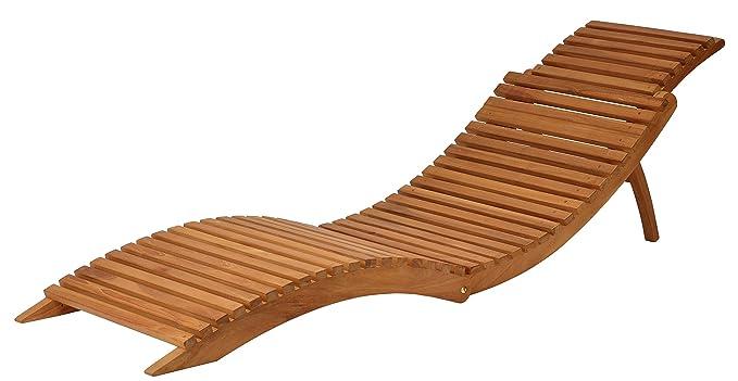 Amazon.com: Bare Decor Chanelle exterior de madera de teca ...