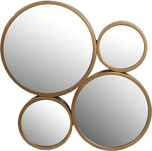 Privilege 4 Circle Iron Mirror