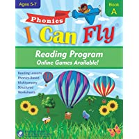 I Can Fly - Reading Program - A, With FREE Online Games: Orton-Gillingham Based Reading Lessons for Young Students Who…