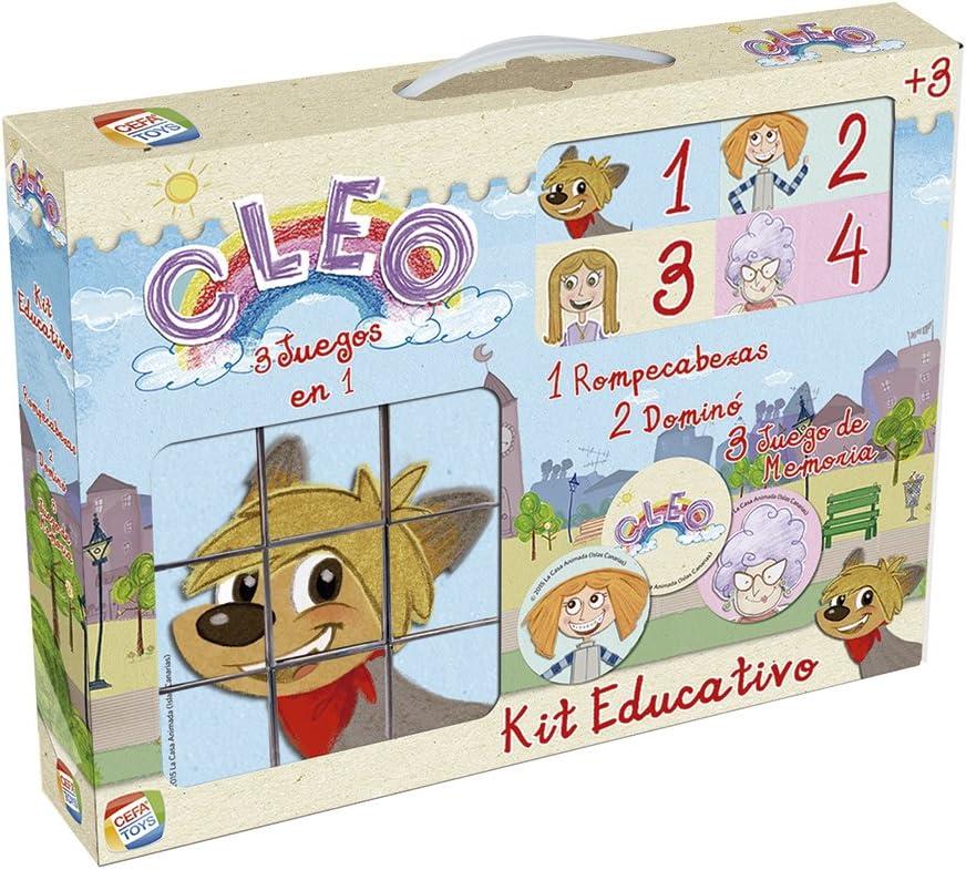 Cleo - Kit Educativo de Rompecabezas (Cefatoys 88240)