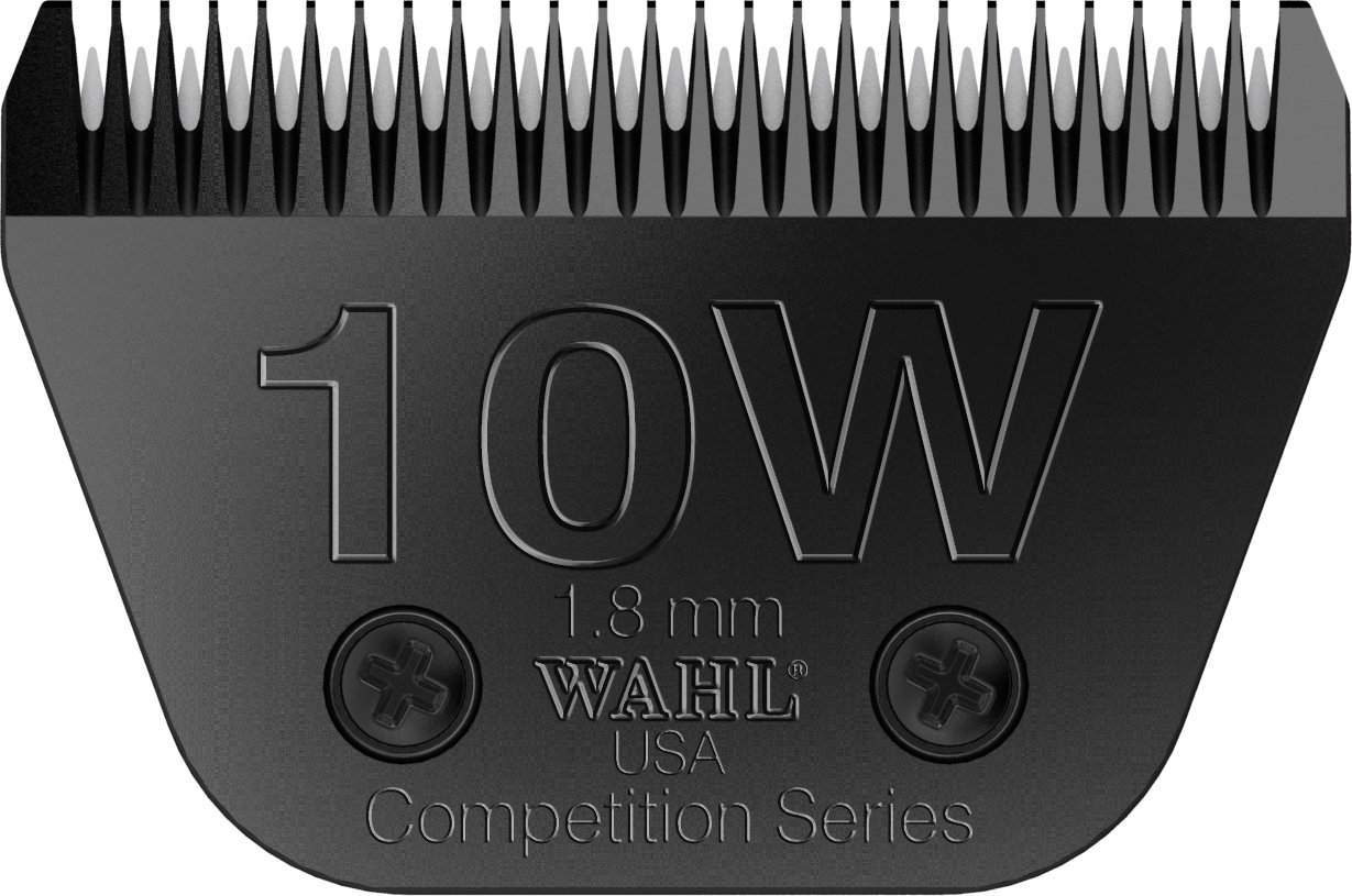 Wahl Professional Animal #10W Extra Wide Ultimate Competition Series Detachable Blade with 1/16-Inch Cut Length (#2377-500)