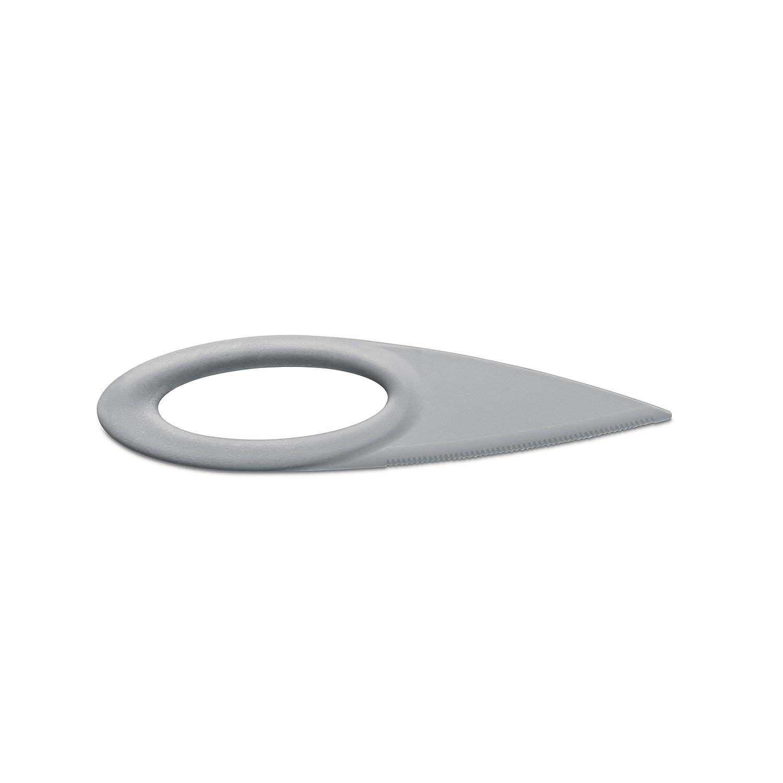 Koziol Sahsa S Fruit Knife, Solid Cool Gray 3214632