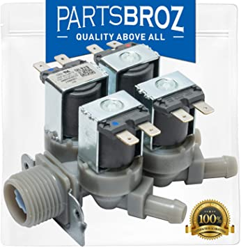 Amazon Com 5220fr2008f Cold Water Inlet Valve For Lg Washing Machines By Partsbroz Replaces Part Numbers Ap4445613 1268512 5220fr2008l 5221er1002b Ah3527431 Ea3527431 Ps3527431 Home Improvement