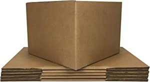"""Moving Boxes Large Size 20x20x15"""" Boxes (Value 6 Pack) Packing/Shipping/Storage Boxes"""