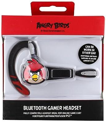 GameOn Angry Birds - Auriculares para PS3 (Bluetooth)